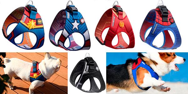Chollo Arnés de superhéroes para perros