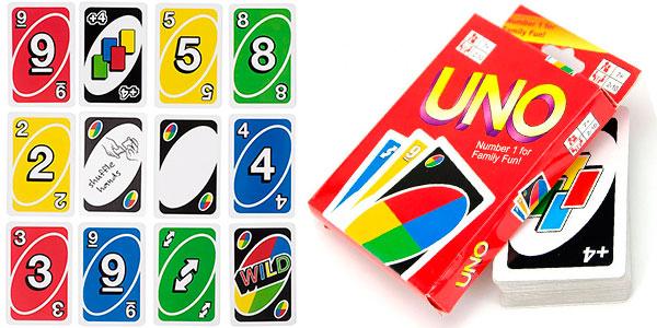 Baraja de cartas Uno barata