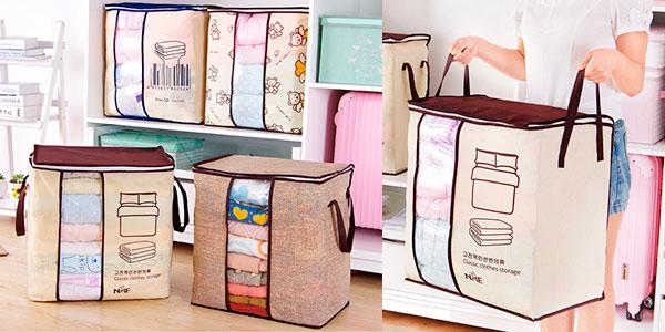 Chollo Bolsa de almacenamiento de ropa de cama y mantas