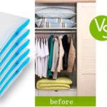 Bolsas de vacío para guardar ropa al mejor precio