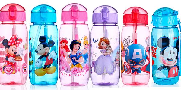 Chollo Botella de agua con personajes Disney de 400 ml