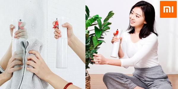 Chollo Botella pulverizadora Xiaomi Yijie YG-01 de 300 ml