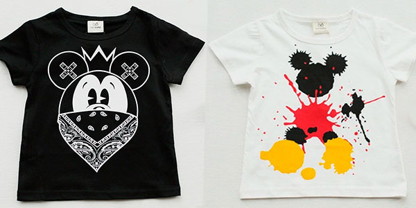 Chollo Camiseta infantil de manga corta de Mickey y Minnie