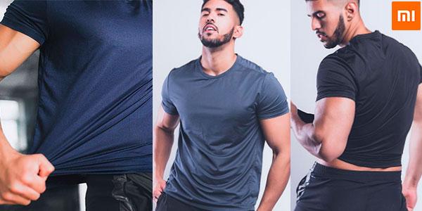 Camiseta deportiva Xiaomi Giavnvay para hombre barata