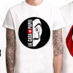 Chollo Camisetas La Casa de Papel para hombre