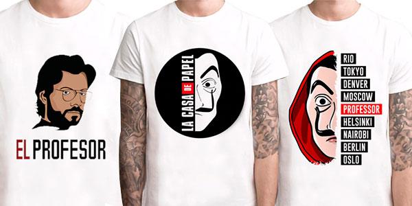 Chollo Camisetas La Casa de Papel
