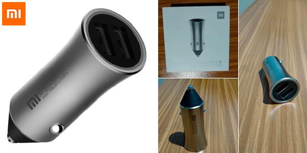 Chollo Cargador rápido USB Xiaomi para el coche