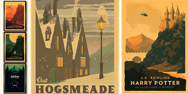 Carteles de Harry Potter baratos
