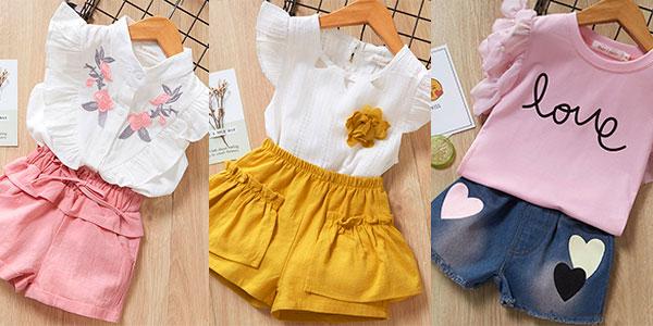 Chollo Conjunto de ropa en varios modelos para niña