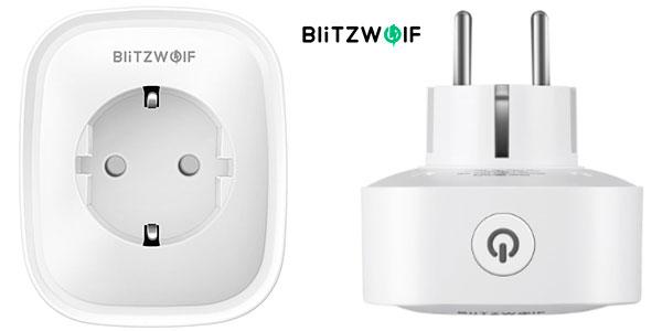 Chollo Enchufe inteligente BlitzWolf BW-SHP2 con Wi-Fi