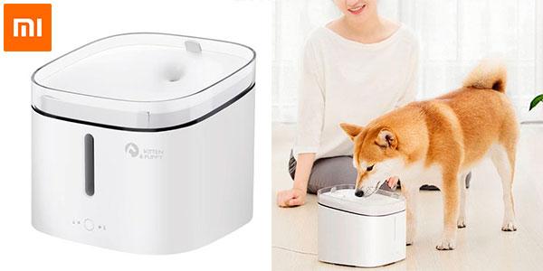 Chollo Fuente de agua Xiaomi para mascotas