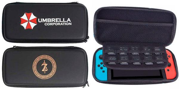 Chollo Funda de transporte para Nintendo Switch y protector de pantalla