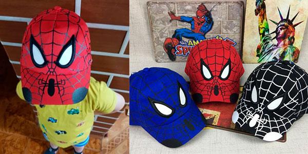 Chollo Gorra infantil de Spider-Man en varios modelos