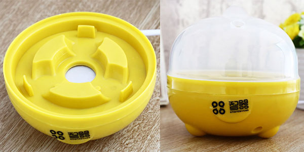 Chollo Mini Hervidor de huevos eléctrico