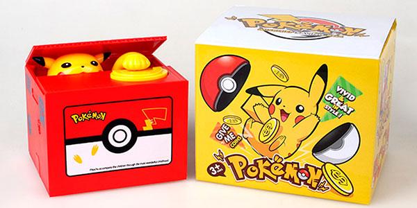 Chollo Hucha electrónica de Pokémon