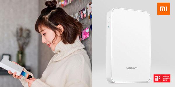 Chollo Impresora portátil Xiaomi con Bluetooth y NFC