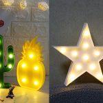 Chollo Lámparas LED decorativas de colores