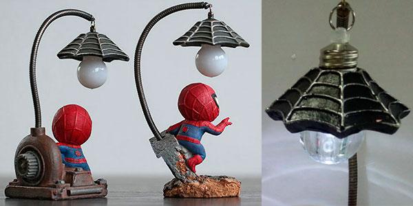 Lamparita LED de Spider-Man en 2 modelos barata
