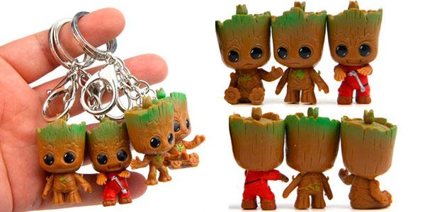 Chollo Llaveros Baby Groot Marvel