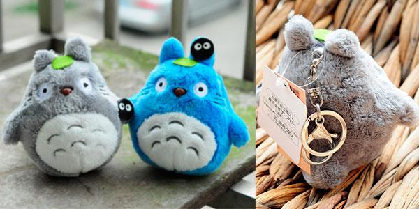 Chollo Llaveros de peluche Mi vecino Totoro