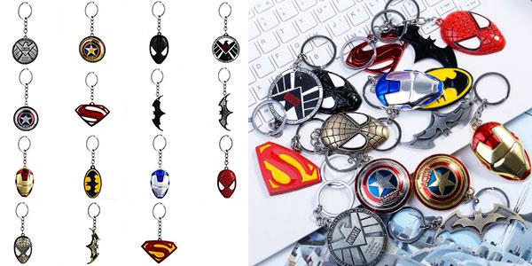 Chollo Llaveros de superhéroes