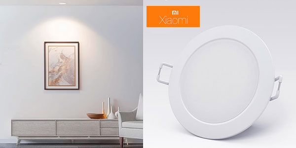 Chollo Luz LED Downlight Xiaomi Philips Zhirui con color ajustable