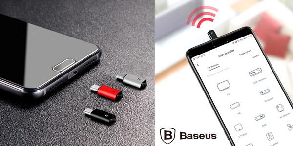 Chollo Mando a distancia IR Baseus para smartphone
