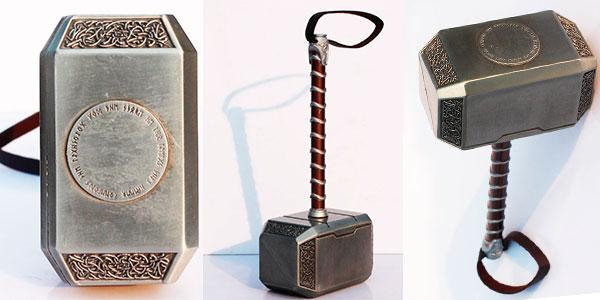 Chollo Martillo Mjolnir de Thor de 20 cm
