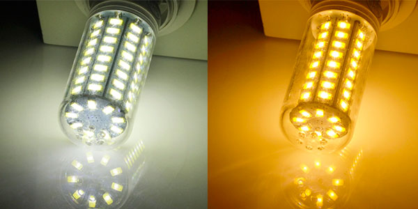Chollo Bombilla mazorca LED con casquillo E27 y E14