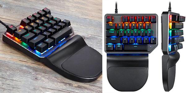 Chollo Mini teclado mecánico Motospeed K27 para gaming