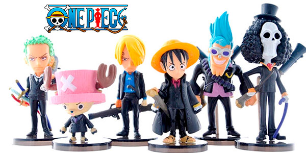 Chollo Pack de 6 figuras de One Piece