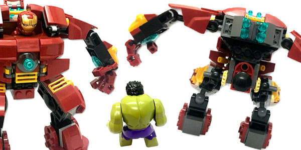 Hulkbuster Vengadores tipo LEGO en AliExpress