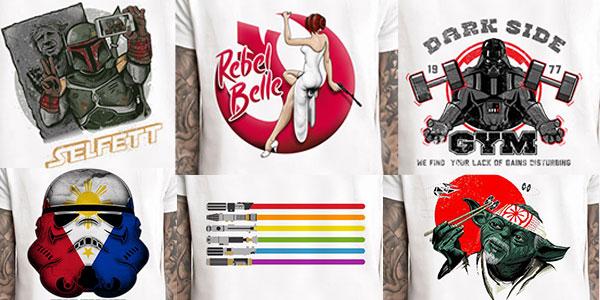 Chollo Camisetas estampadas de Star Wars