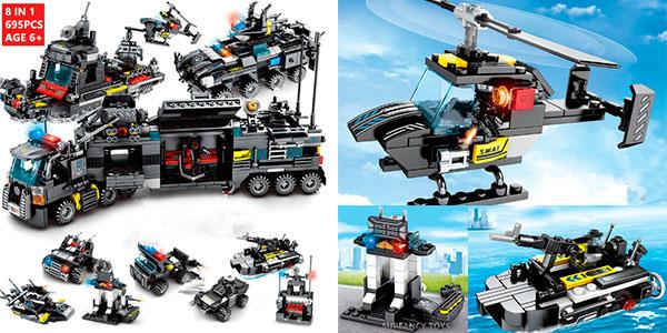 Chollo Set Camión Swat 8 en 1 de tipo LEGO