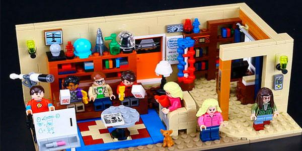 Chollo Set Casa The Big Bang Theory de tipo LEGO con 7 minifiguras
