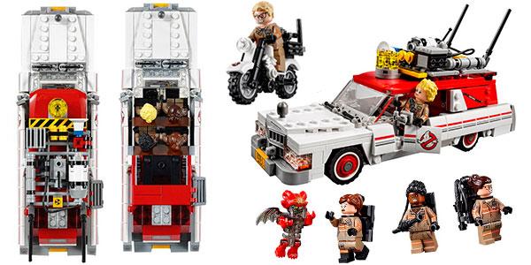 Chollo Set Coche Cazafantasmas + 5 minifiguras tipo LEGO