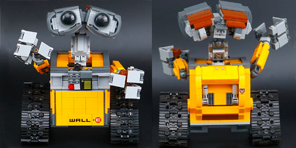 Chollo Robot WALL-E tipo LEGO