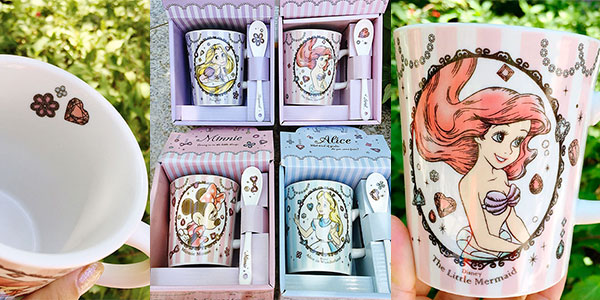 Chollo Set Taza y cuchara Disney de cerámica en varios modelos