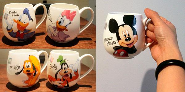 Selección de tazas cerámica de personajes Disney de 320 ml
