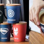 Chollo Tazas de superhéroes Marvel y DC de 350 y 520 ml