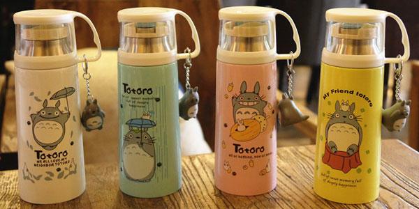 Chollo Termo con vaso de Totoro en varios modelos