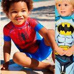 Chollo Traje de baño de superhéroes con protección solar +50 para niño