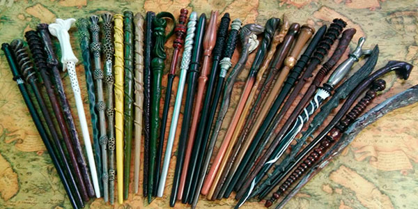 Chollo Varitas mágicas de Harry Potter de 35 cm en varios modelos