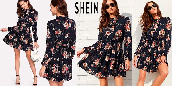 Chollo Vestido Shein con estampado floral