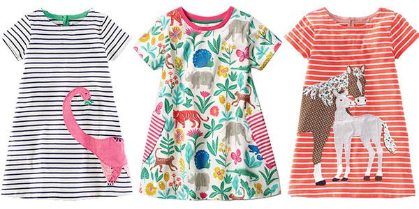 Chollo Vestidos de algodón para niña