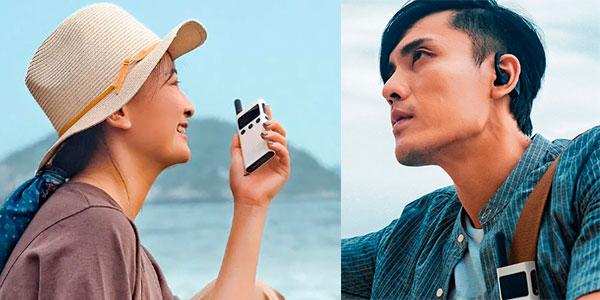 Walkie-Talkie Xiaomi Mijia 1S con radio FM y GPS en oferta