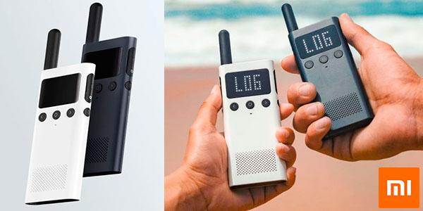 Chollo Walkie-Talkie Xiaomi Mijia 1S con radio FM y GPS