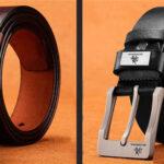 Cinturón de cuero para hombre en AliExpress