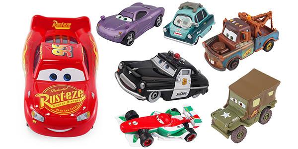 Surtido de coches en miniatura Disney Cars en oferta