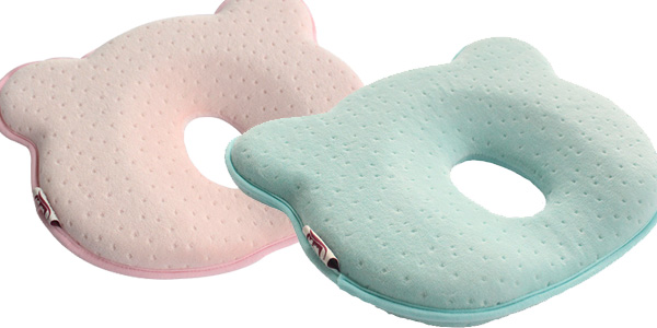 Comprar Cojín ergonómico transpirable de espuma viscoelástica para bebé chollazo en AliExpress